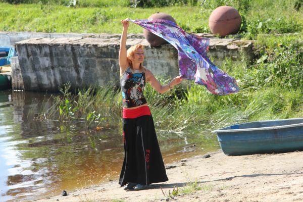 танцующая с ветром