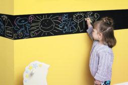 Настенное творчество детей